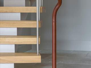 6707 - Feature Helical Staircase by Bisca Staircases Modern