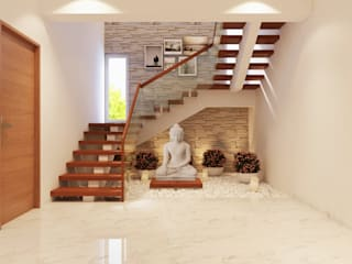 Staircase Area by De Panache - Interior Architects Modern