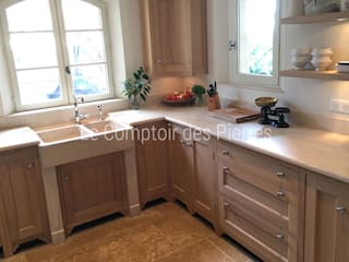 LE COMPTOIR DES PIERRES KitchenBench tops Stone Beige
