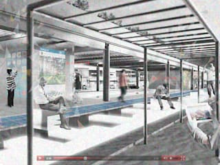 G._ALARQ + TAGA Arquitectos Centra wystawowe