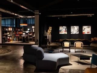 Espaços comerciais industriais por Adriana Scartaris: Design e Interiores em São Paulo Industrial