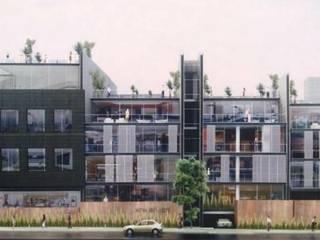 DEPARTAMENTOS: Casas de estilo  por IDEA Taller de Arquitectura, Moderno