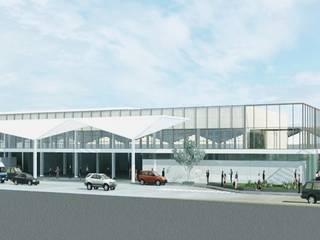 TERMINAL ADO : Oficinas y tiendas de estilo  por IDEA Taller de Arquitectura, Moderno