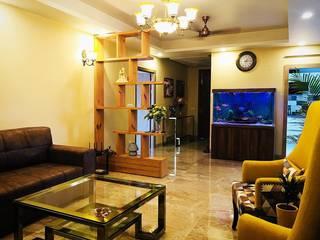 "Home's Reflection ""Aquarium"" Residential | Aquarist:  Living room by Aquarist,"