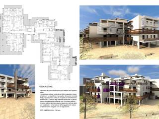 Edificio di nuova realizzazione:  in stile  di TURCHIANO ARCHITETTI - architecture and design,