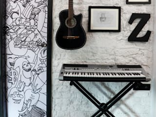 Apartment ZZ:  Bedroom by Neha Changwani,Industrial