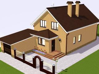 Частный дом от Arprojects   Проектирование домов Лофт