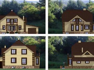 Частный дом от Arprojects   Проектирование домов Классический