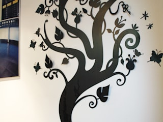 Decoración de pared: Heaven Tree de Origami Steel Ecléctico