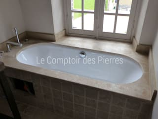 LE COMPTOIR DES PIERRES BathroomBathtubs & showers Stone