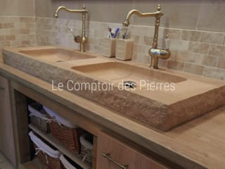 LE COMPTOIR DES PIERRES BathroomSinks Stone