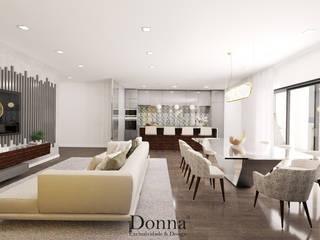 Sala + Cozinha : Cozinhas  por Donna - Exclusividade e Design,Moderno
