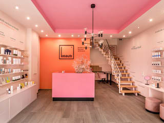 CONSCIOUS DESIGN - INTERIORS Minimalist offices & stores Multicolored