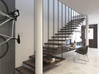 Juve 3D Studio Stairs Wood Wood effect