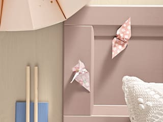 Mobili a Colori Girls Bedroom Solid Wood Pink