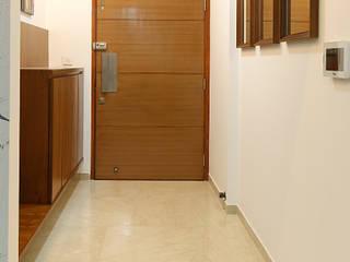 Lodha Belmondo Modern corridor, hallway & stairs by AreaPlanz Design Modern