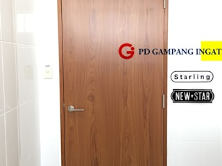 Gampang Ingat Inside doors Wood Metallic/Silver