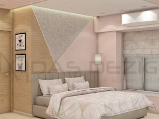 Bedroom by Midas Dezign, Modern