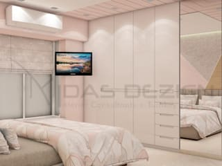 Small bedroom by Midas Dezign, Modern
