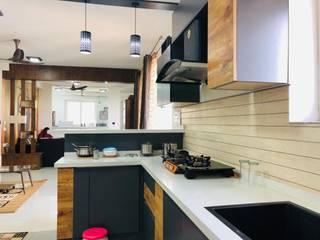 Residential Modern kitchen by VFY INTERIORS Modern