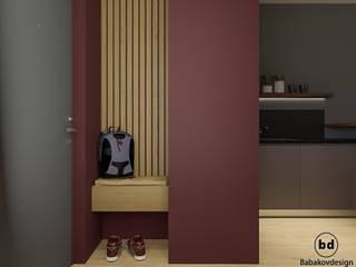 ЖК Букинист Коридор, прихожая и лестница в скандинавском стиле от Babakovdesign Скандинавский
