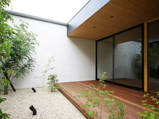 kisetsu Modern garden Wood White
