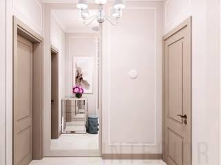 Дизайн студия 'Хороший интерьер' Classic corridor, hallway & stairs