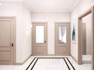 Pasillos, vestíbulos y escaleras clásicas de Дизайн студия 'Хороший интерьер' Clásico