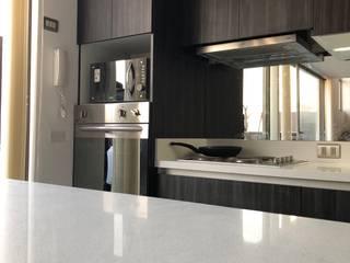 Vista 5 balConcept SpA Muebles de cocinas Cuarzo Blanco