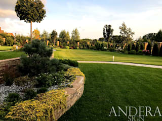 Jardines de estilo ecléctico de ООО Андера Ecléctico