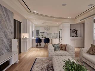 甜蜜蛻變的完美變身-新潮古典大宅 根據 趙玲室內設計 古典風