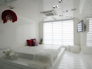 high end residential project at malad Modern style bedroom by Mybeautifulife Modern
