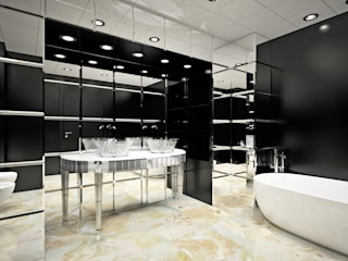 Eclectic style bathroom by BIANCHINI & CAPPONI - B&C Srl Eclectic