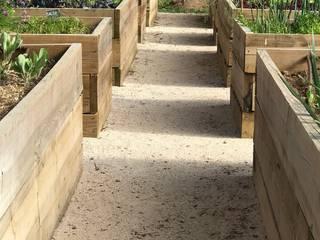 Jardim Natural- Quinta nos arredores de Lisboa Jardins rústicos por Maria Mayer | Interior & Landscape Design Rústico