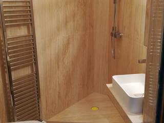 Canalmarmi e Graniti snc Minimalist bathroom Marble Beige