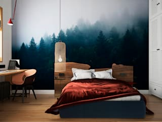 Eclectic style bedroom by Aya Asaulyuk Design Eclectic