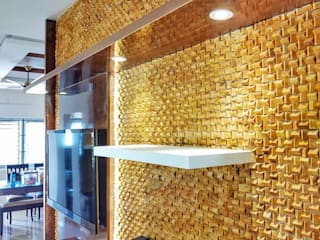 Sandstone wall cladding tiles: modern  by perfect stone inc,Modern