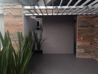 Ortiz Construcciones y Remodelacion Integral Rumah pasif Aluminium/Seng Metallic/Silver