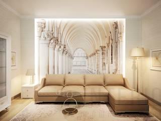 Classic style living room by Дизайн студия 'Хороший интерьер' Classic