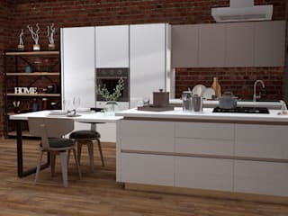 Кухни Энли KitchenKitchen utensils MDF White
