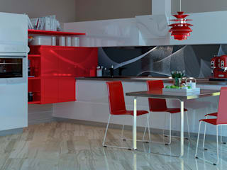 Кухни Энли KitchenKitchen utensils Red