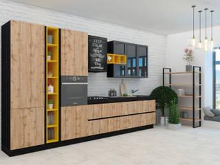 Кухни Энли KitchenKitchen utensils Wood effect