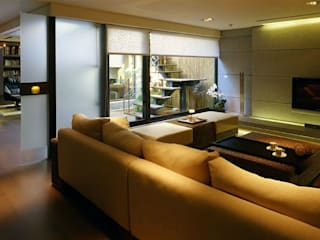 Asyatik Oturma Odası 鼎爵室內裝修設計工程有限公司 Asyatik