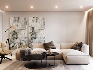 Living room by ParcH, Modern