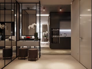Modern Corridor, Hallway and Staircase by ParcH Modern