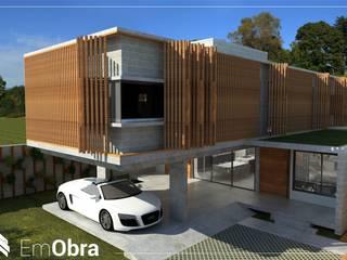 Casas de estilo  por Em Obra, Moderno