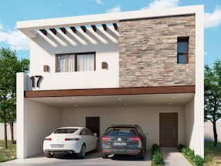 VillaSi Construcciones Casas de estilo minimalista