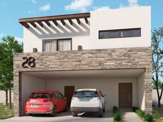 Дома в стиле минимализм от VillaSi Construcciones Минимализм