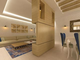 Kalya İç Mimarlık \ Kalya Interıor Desıgn Living room لکڑی Wood effect