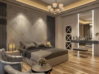 KRY Design – Konut Projeleri:  tarz Yatak Odası,